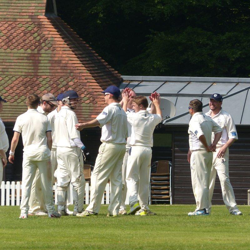 Outwood CC - 1st XI vs. Leigh CC, Kent - 1st XI