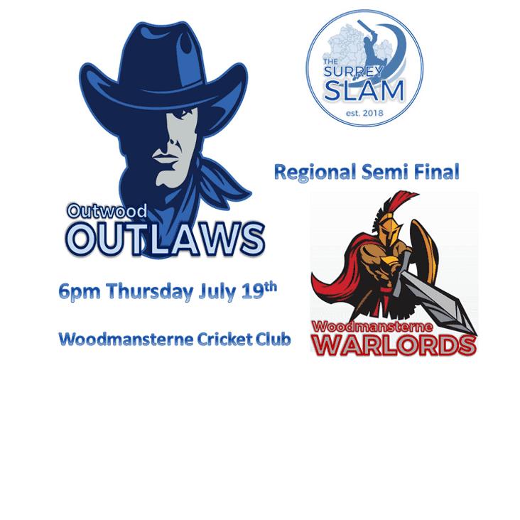 Outlaws v Warlords - Slam Regional Semi Final