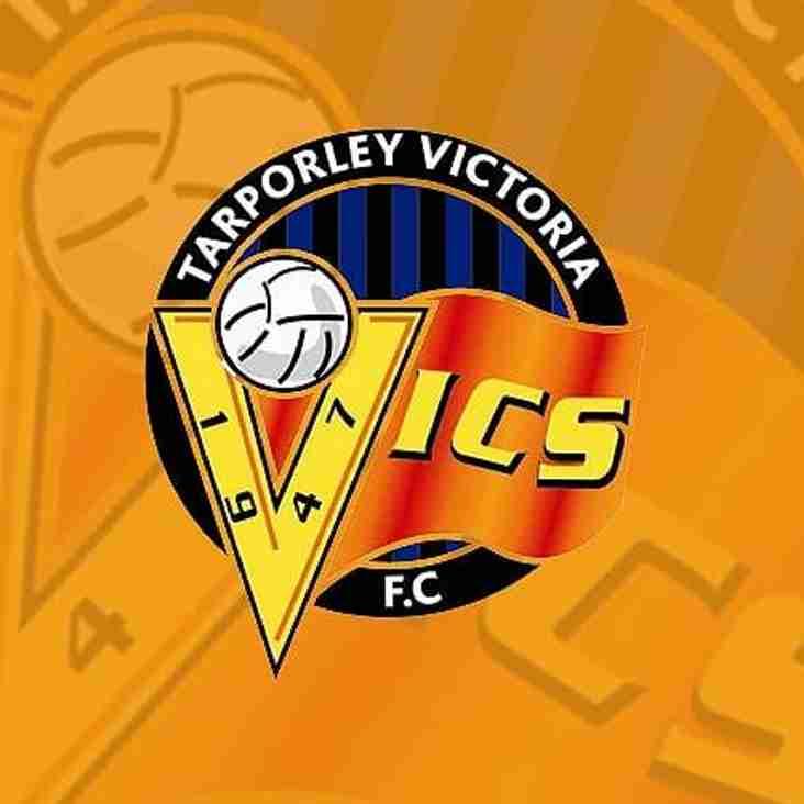 Tuesday Night Fixture vs Tarporley Victoria