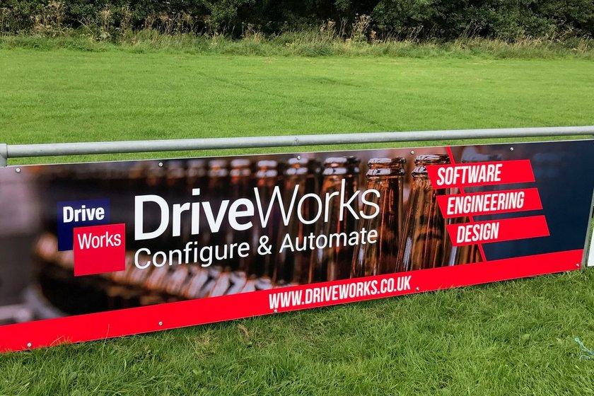 Grappenhall Sports are pleased to announce new sponsorship deal with DriveWorks