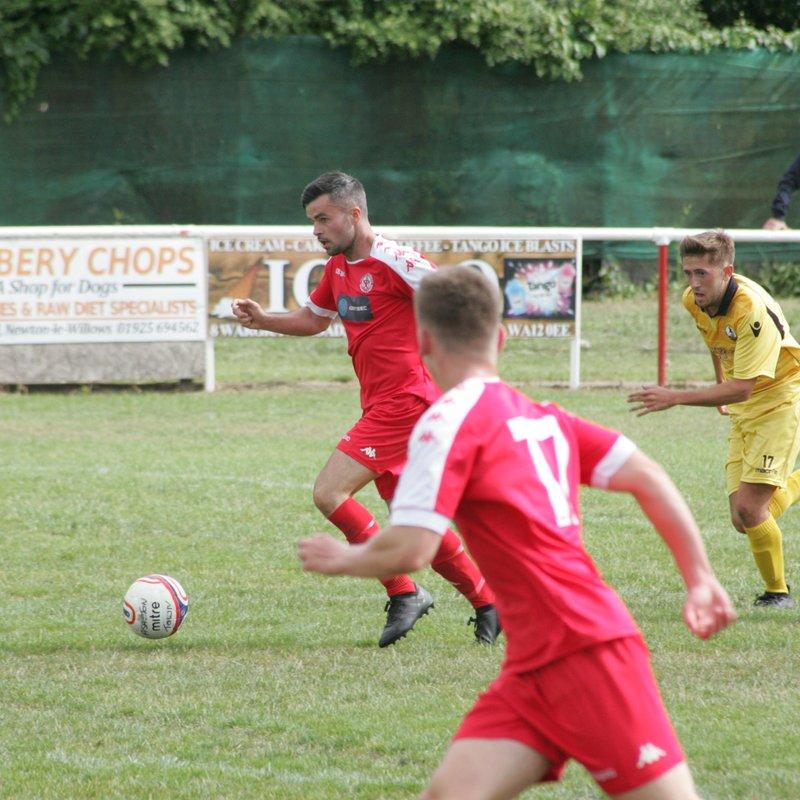 Ashton Town AFC v Widnes FC 21/7/18