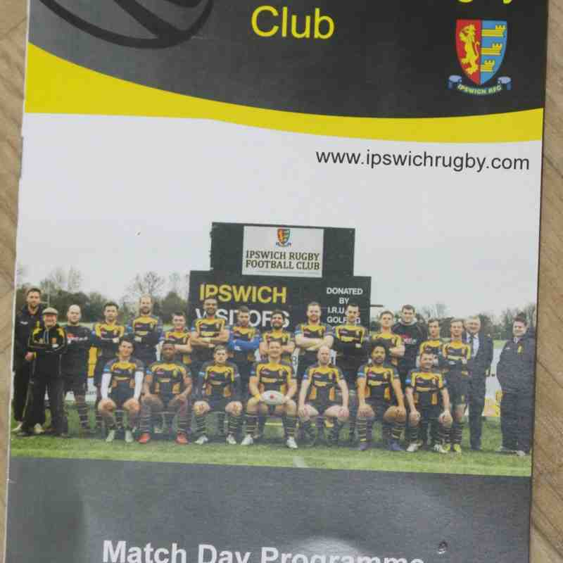 Ipswich v R&GP 1st XV - 28th March 2015