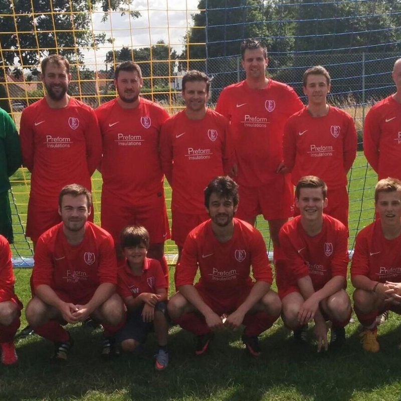 Easton Reserves beat Wells Town FC 6 - 1