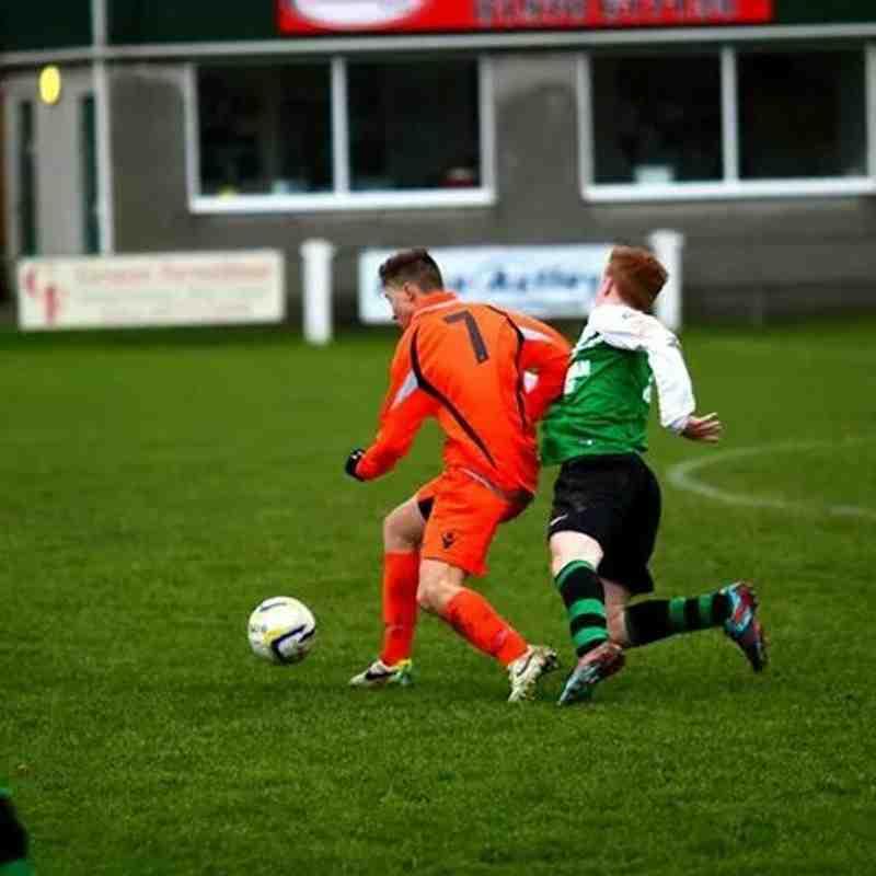 Conwy Borough U19s at Aberystwyth Town U19s 2014/15