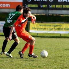 Conwy Borough U19s v Aberystwyth Town - 2013/14