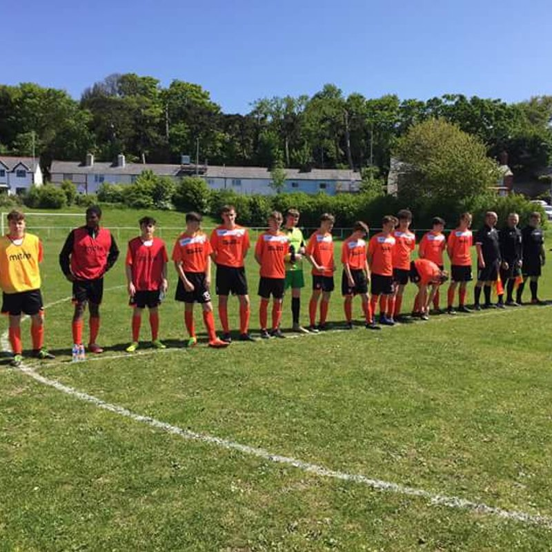 U18s Defeated in NWCFA Youth Cup Final