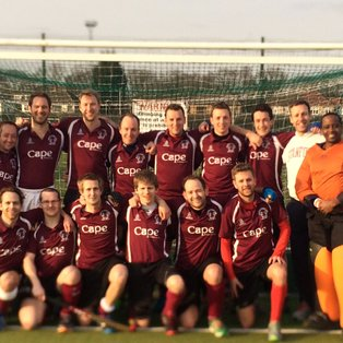 Upminster 2s vs Wapping 3s - Wapping Won 4-1 (White 2, Austin, Edmunds)