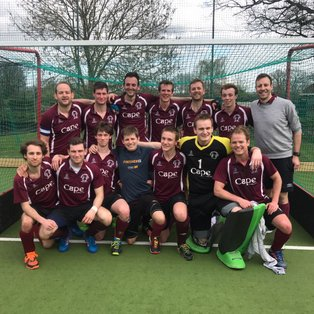Men's 3s clinch the Div 2 South title