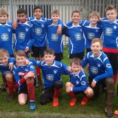 u12 New Away Strip - Sponsored by Catch 22