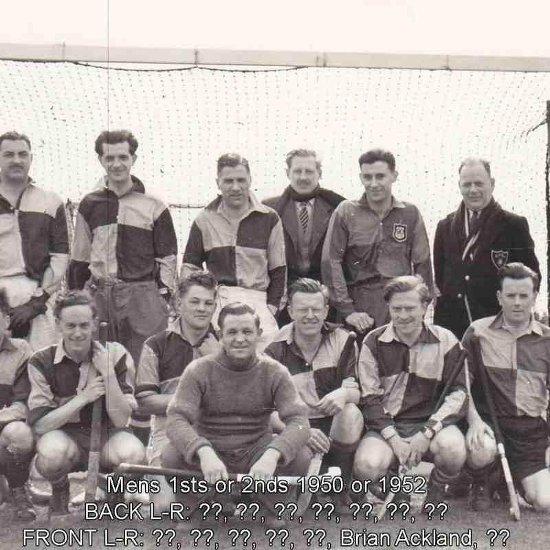 Mens Teams thru the Years