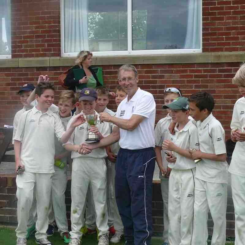 Under 13s Cup Winners