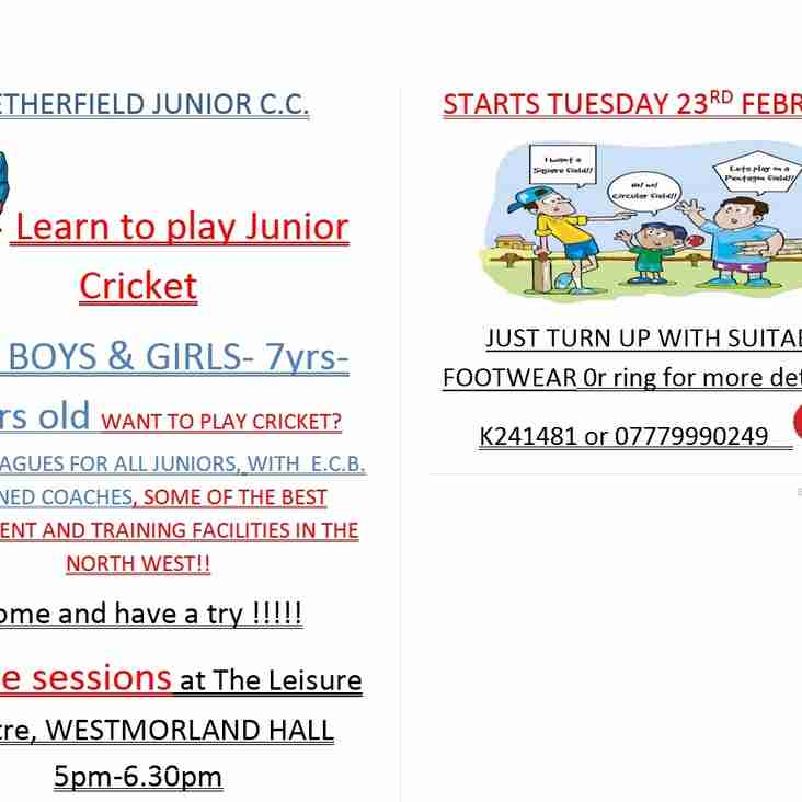 LEARN TO PLAY JUNIOR CRICKET