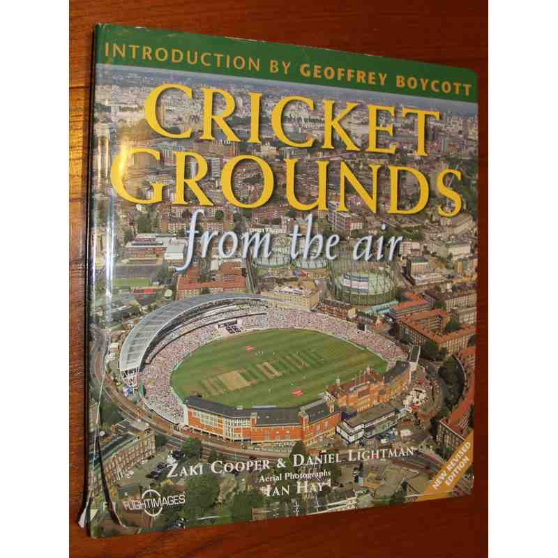 Cricket Grounds from the air