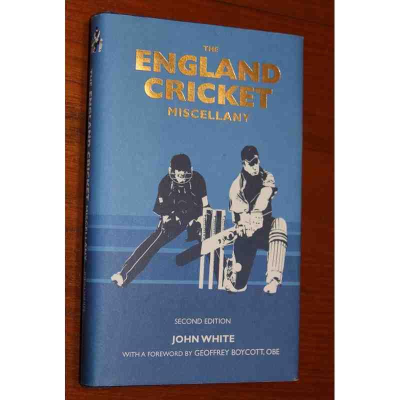 England Cricket Miscellaneous Book.