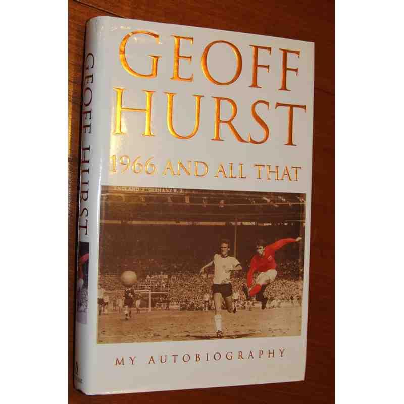 Geoff Hurst Book