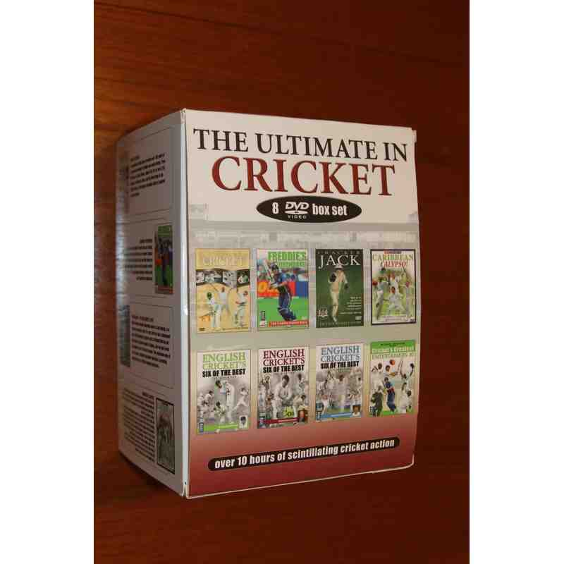 The Ultimate Cricket Collection DVD Box Set