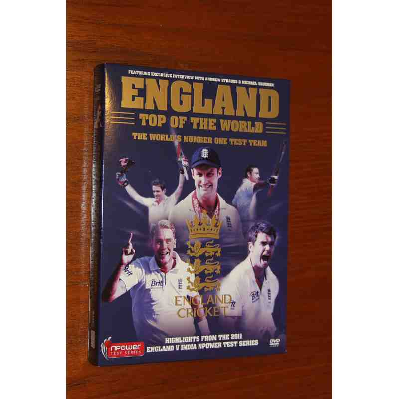 England Top Of The World DVD