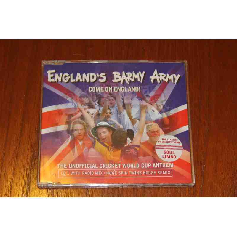 Englands Barmy Army Unofficial World Cup Anthem CD