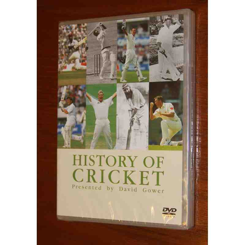 The History Of Cricket DVD