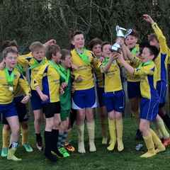 Under 12s crowned League Champions