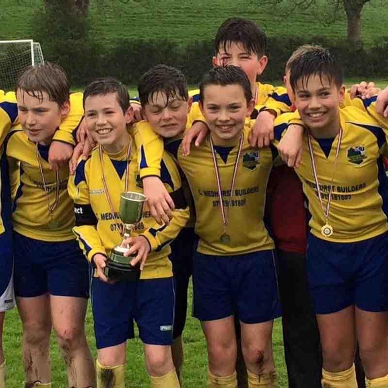 Kendal Uniteds Victorious Under 12 Team