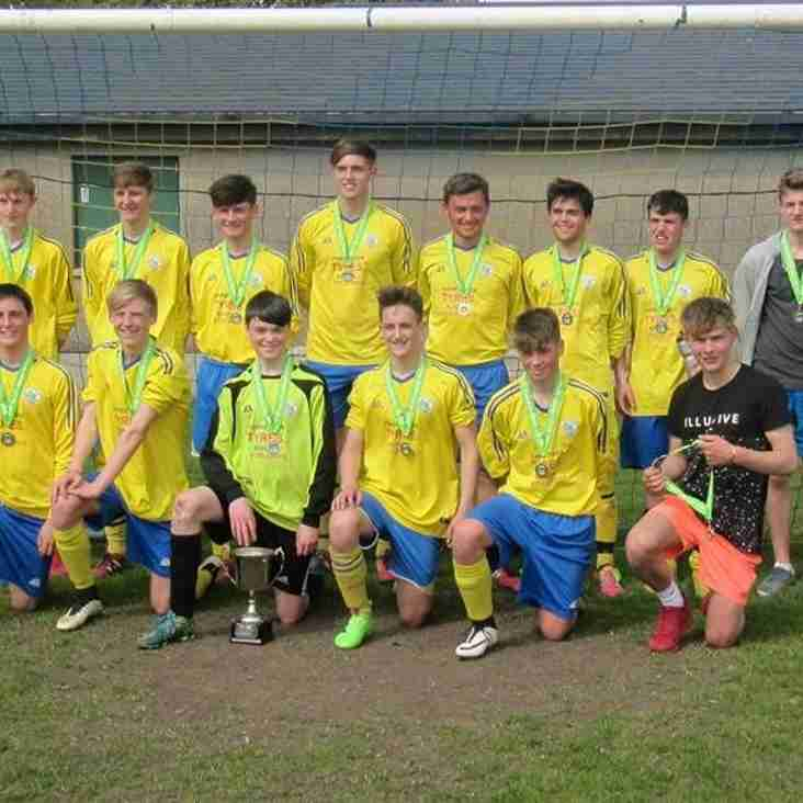 Kendal United Under 16's Crowned League Champions