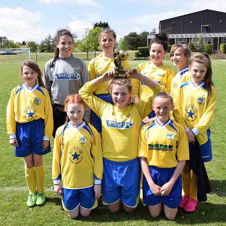 Kendal Utd Girls Festival Success