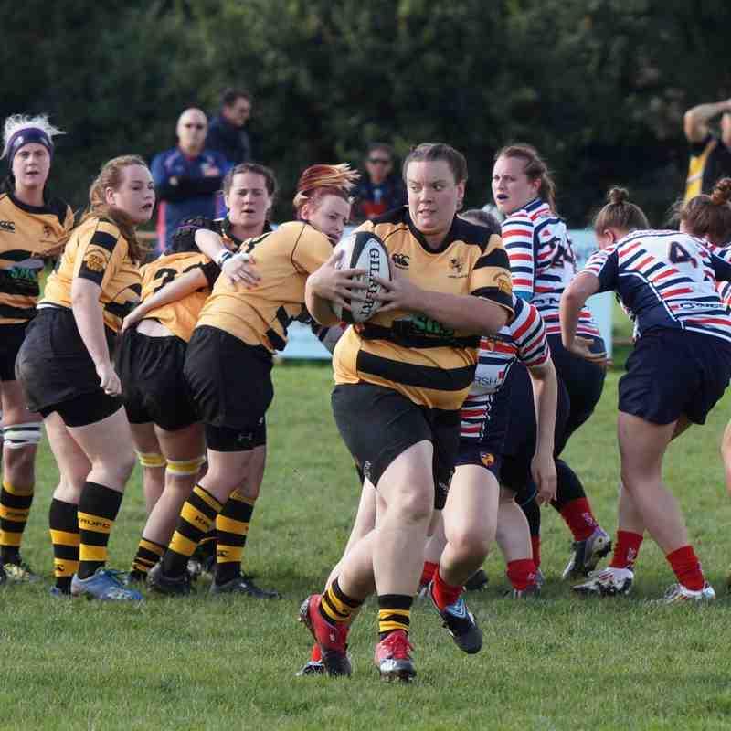 Kendal Ladies Rugby vs Birkenhead Park (photos by Richard Edmondson)