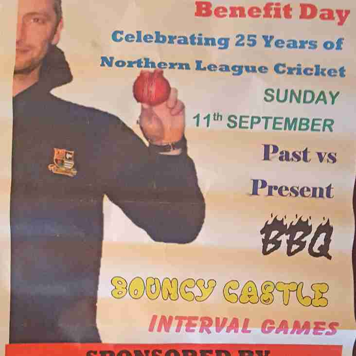 CRAIG WALMSLEY BENEFIT DAY