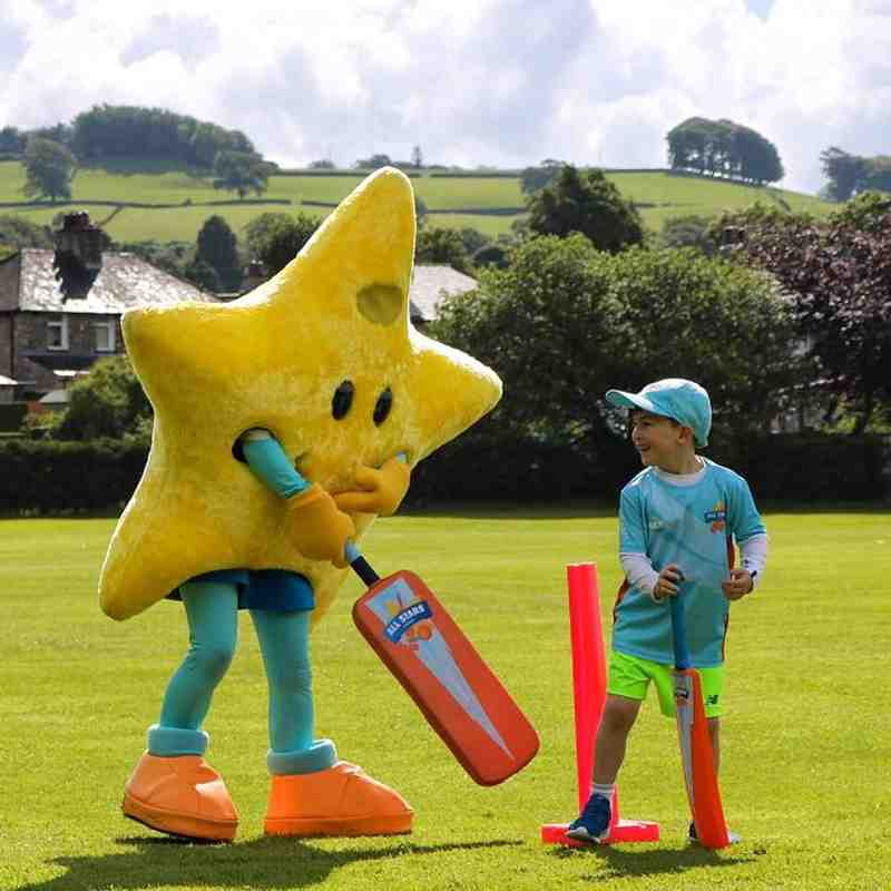 All Stars with Monty Panesar (Photographs courtesy of Michelle Bigland)