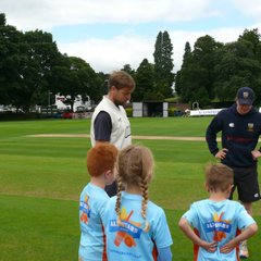 NCC All Stars at T20 (Photographs courtesy of Helen Russell)