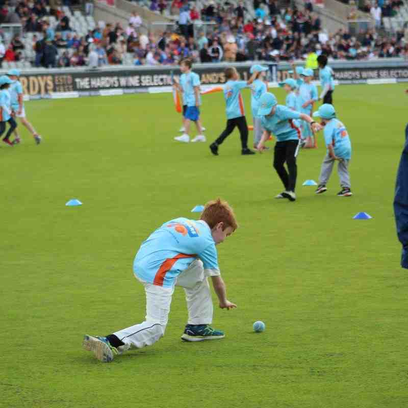 All Stars at Old Trafford (Photographs courtesy of Stuart Bailey)