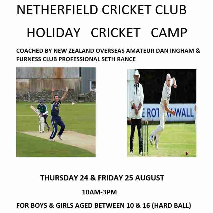 Holiday Cricket Camp