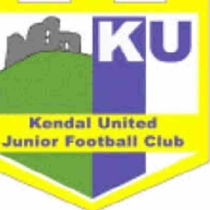 Kendal United Juniors season gets underway