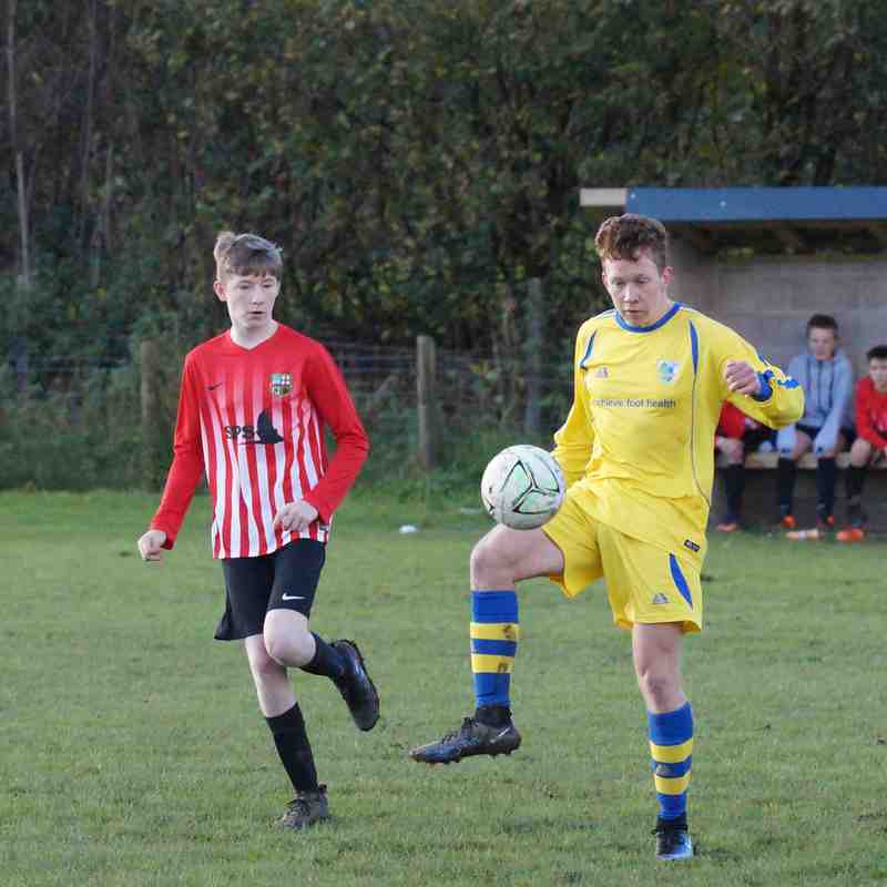 Kendal United U17 v Cockerham Juniors (5/11/17)