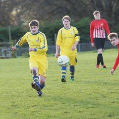 Kendal United U17 v Cockerham Juniors (5/11/17)
