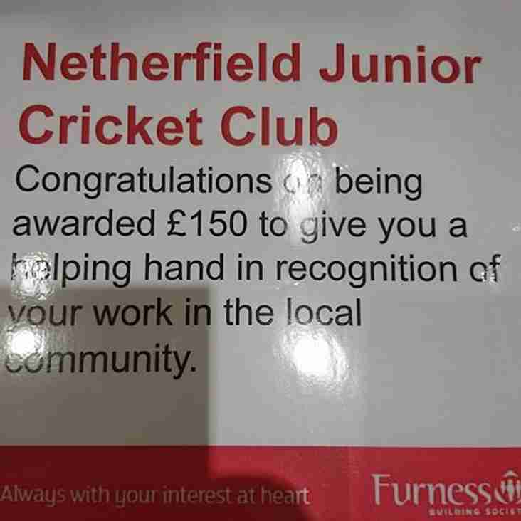 Award presented to NCC Juniors