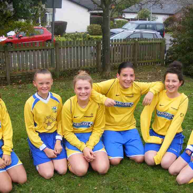 Kendal United Under 15 Girls on the look out for players