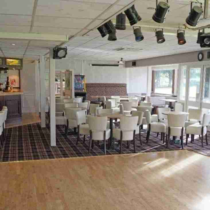 Function Room Availability (March to November 2018)