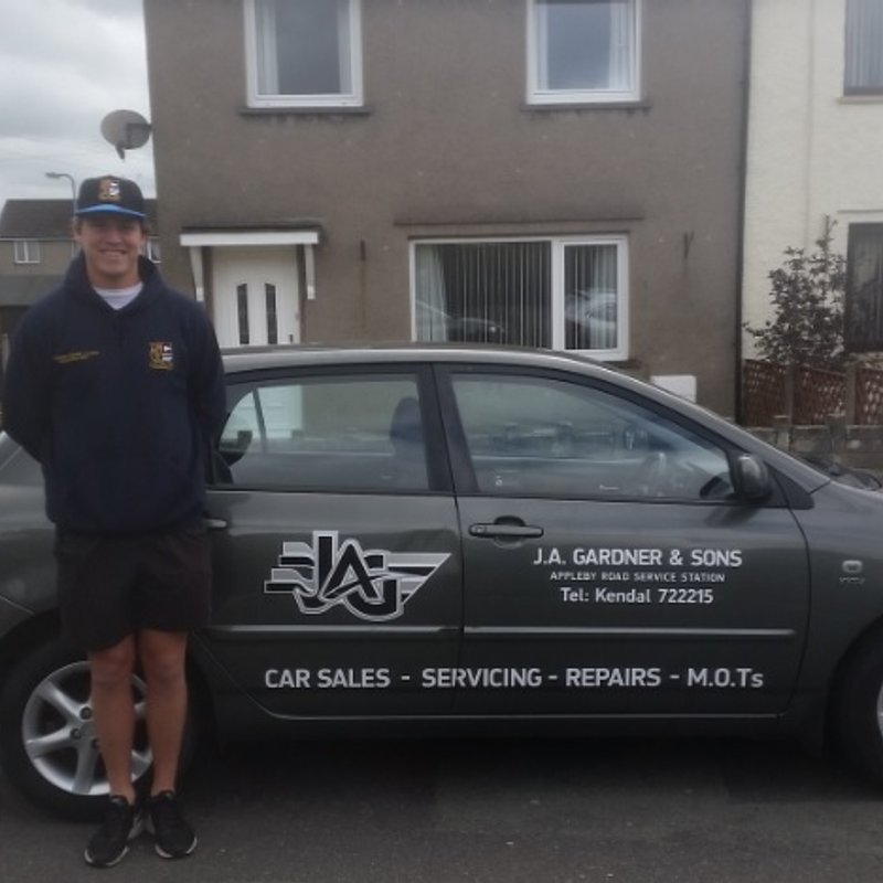 Jack Boyle presented with new Car