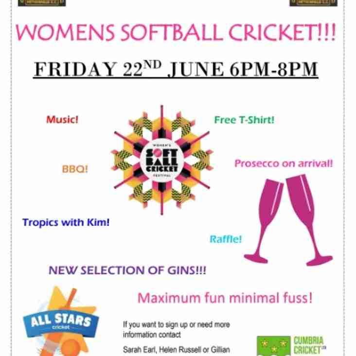 Women's Soft Ball Cricket