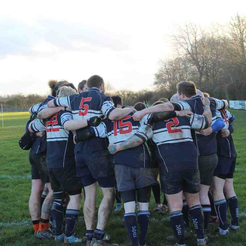 Newark 4ths vs South Notts Barbarians (30/01/2016)