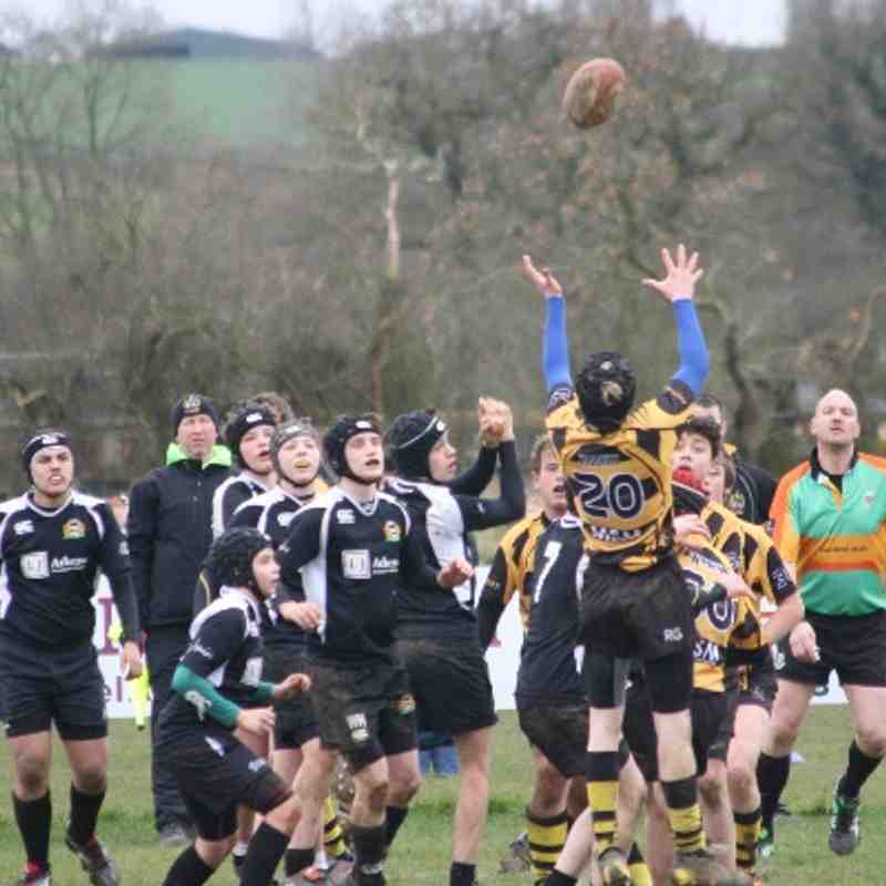 County Cup Semi-Final v Market Harborough (A) 2/3/14