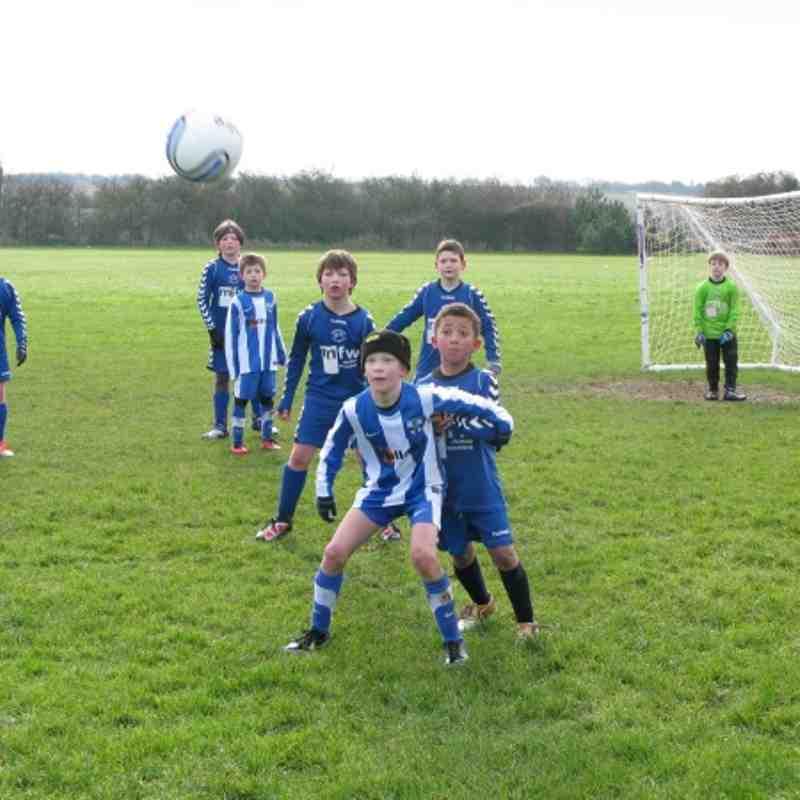versus Sturry Kings 9-0 win Feb13