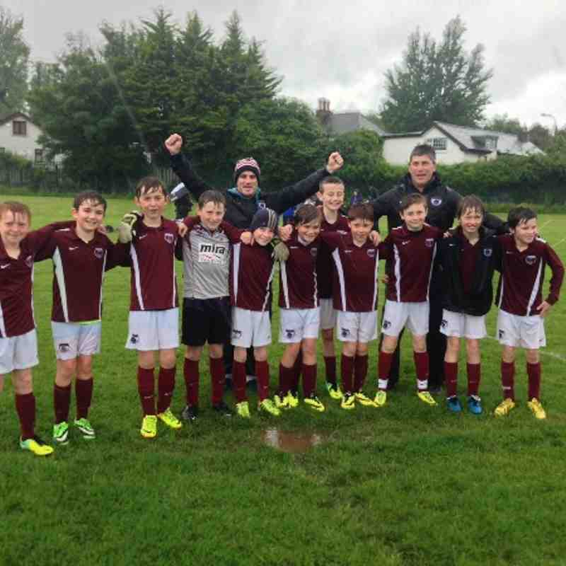 U11D DDSL Champions - June 2014