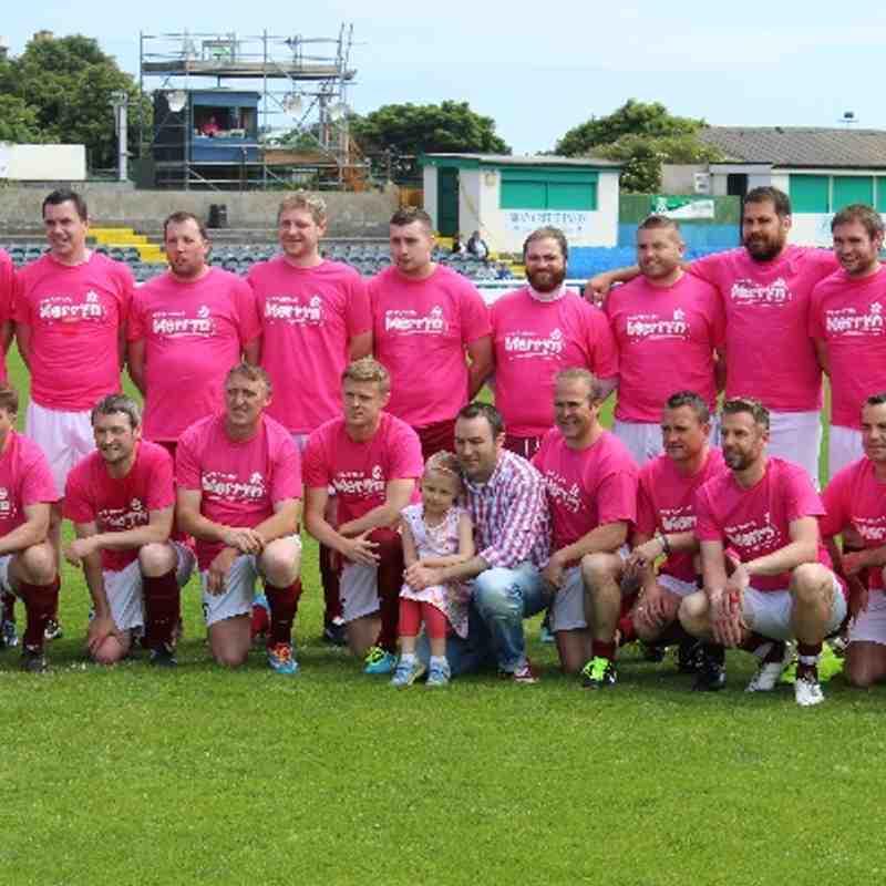Merryn Lacy Charity Match - June 2014