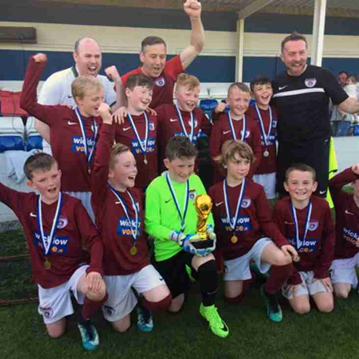 Ardmore Rovers U10A Win Home Farm World Cup