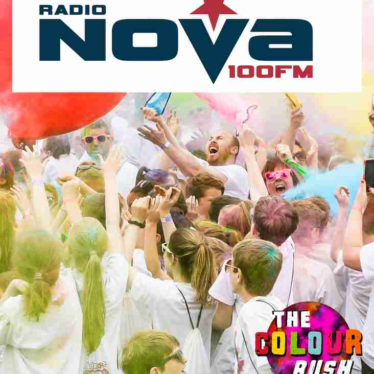 Ardmore Rovers Announce Radio Nova as Media Partner for The Colour Rush 2018