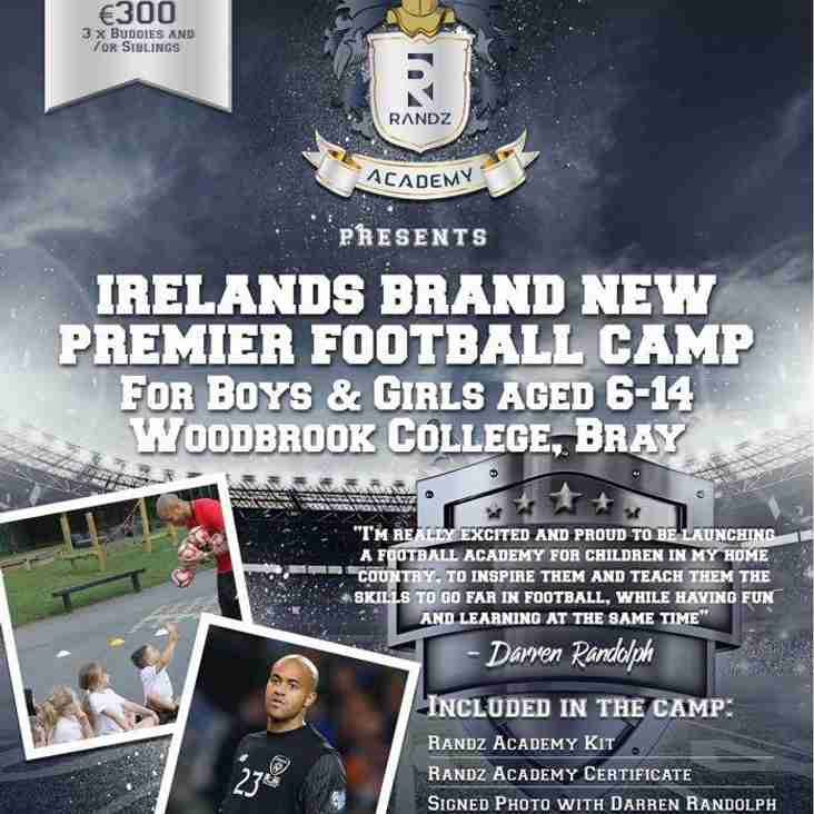 Places Still Available for the Randz Academy Football Camp