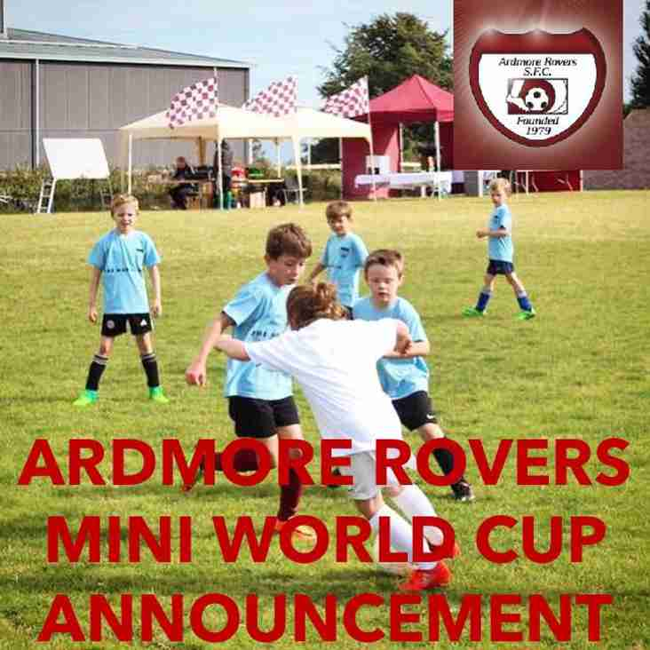 Mini World Cup Announcement
